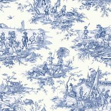 Small Picture Decorating Beautiful Drapery And Upholstery Toile Fabric Idea