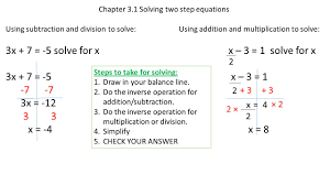 pod 1 2x 46 2 m 5 j 58 chapter 3 solving two step equations with