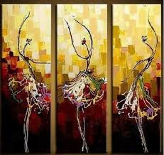 abstract paintings canvas