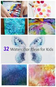 these watercolor painting ideas for kids are so creative and fun can t wait