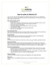 How To Write A Personal Resume How Ro Make A Resume Resume