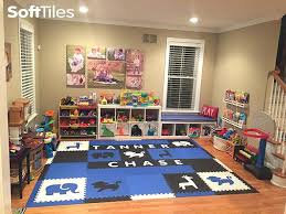 childrens foam mat safari animals playroom foam mats in blue black and white personalized with names childrens foam mat