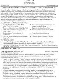Process Validation Engineer Sample Resume 6 Shinod Resume Job Templates  Computer Hardware Technician Description Objectives Entry ...