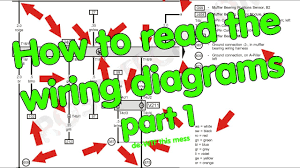how to read wiring diagrams, part 1 of 2 youtube Reading A Wiring Diagram how to read wiring diagrams, part 1 of 2 reading a wiring diagram lesson 1