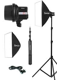 Simpex Pro 300d With Softbox Studio Light 300d Premium With Soft Box