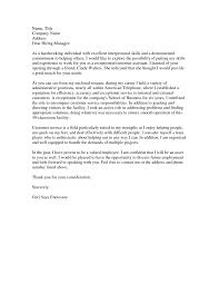 Cover Letter Sample Cover Letter Receptionist Cover Letter Sample