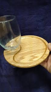 wine appetizer plates set of 4 with holder