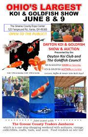 Ramar Estates Springfield Ohio Christmas Lights Dayton Koi Goldfish Show Coming To The Xenia Ohios Greene