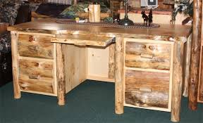 pine home office furniture. Fabulous Cool Rustic Office Desk Home Design Regarding Pine Furniture