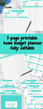 Free Printable Monthly Budget Worksheets | Best Of ...