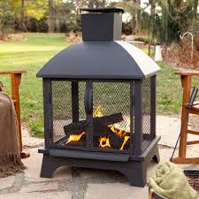 wood burning patio fire pits. Outdoor Patio Fireplace Wood Burning Fire Pit Chiminea Chimney Types Pits