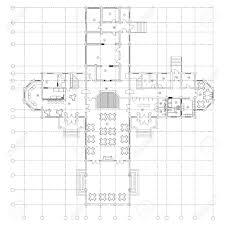 floor plan furniture symbols. Standard Cafe Furniture Symbols On Floor Plans Stock Vector - 78460292 Plan