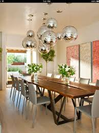 Camino Santander, Santa Fe Residence - modern - dining room - R Brant  Design I love the round globes, a perfect way to add the metal element to a  room