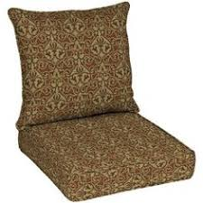 patio cushion ideas hton bay cayenne scroll quick dry pillow back outdoor deep seating cushion outdoor seat