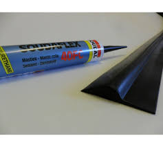 rubber garage door floor threshold weather draught excluder seal free adhesive