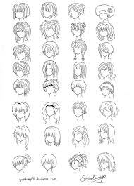 Hair Style Anime 32 anime and manga hair styles by goosebump91 on deviantart 3856 by wearticles.com