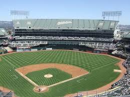 As Oakland Alameda Stadium Field View Mlb Al West
