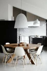 adorable simple round dining table with stunning hanging lighting in the center so inspiring for a small family dining area top 10 modern round dining