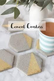 cement coaster diy main