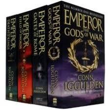 conn iggulden emperor series 4 books set collection rrp s of war emperor the field of swords emperor the of kings emperor the gates of