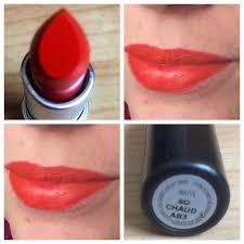 review mac cosmetics so chaud lipstick