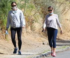 Jennifer isn't bad either but she doesn't compare to costco. Jennifer Garner Sports Neon Blue Hot Pink Asics Gel Kayano 27 Shoes