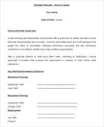 Free Blank Resume Templates Interesting Blank Standard Resume Template 28 Blank Resume Templates Free