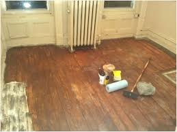 most of the paint gone woo hoo can you paint wood floors with emulsion how to
