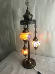 great style turkish moroccan mosaic tiffany floor lamp light multi colour 3 1 of 4only 0 available see more