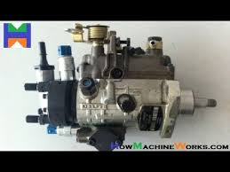 How fuel injection pump works. ✓ - YouTube