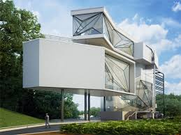 Ultra modern house Small Long Narrow Ultramodern Residence Envisioned As Composition Of Disassembled Aviation Components Offers An Evocative Home For Retired Pilot Pochiwinebardecom Aviators Villa Ultramodern House Made Of Airplane Parts Urbanist