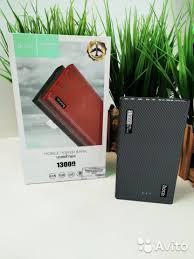 Портативный <b>аккумулятор Hoco B36</b> Wooden 13000 mAh купить в ...