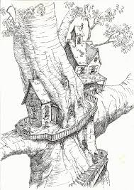 Coloring Pages Ideas Treehouse Coloring Pages Best Page Site Home