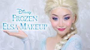 アナ雪 エルサ風メイク disney s frozen elsa makeup tutorial you