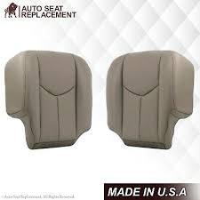 silverado leather seat covers gray