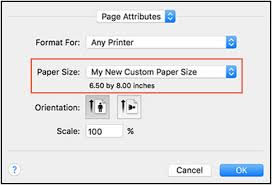 Hp Printers Creating Custom Paper Sizes Hp Customer Support