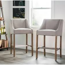 beige bar stools. Aoki Upholstered Beige 30-inch Barstool By Kosas Home (French Beige) Bar Stools