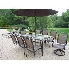 outdoor dining sets with umbrella. Oakland Living Cascade Patio Dining Set With Umbrella And Stand Hayneedle Outdoor Sets