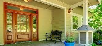 how to refinish fiberglass doors