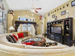 THE FANTASY HOUSE Is A Beautiful 4 Bedrooms Luxury Villa Vacation Located  In The Quiet Friendly Neighborhood Of Indian Creek In Orlando, Florida.