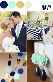 Wedding Colors Navy Blue And Mint Greenl