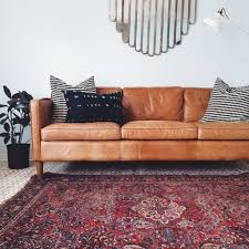 moroccan lounge furniture. Living Room With Moroccan Rug And Contemporary Leather Sofa : Benefits Of Sofas Lounge Furniture