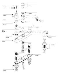 moen 7907 parts list and diagram moen cau kitchen faucet parts diagram