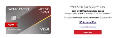 We did not find results for: Wells Fargo Launches Active Cash 2 Credit Card 200 Signup Bonus Doctor Of Credit