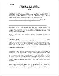 Hold Harmless And Indemnity Agreement Pdf Lovely Indemnification ...