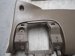 oem 00 expedition f150 tan under steering column dash cover w oem 00 expedition f150 tan under steering column dash cover w fuse panel bezel
