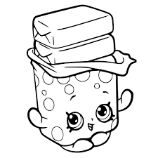 kins kooky cookie coloring page