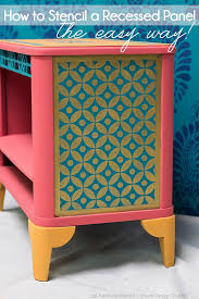 pattern furniture. Jali-furniture-stencil-nightstand-painted-pattern-chalk-paint Pattern Furniture R
