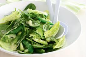 garden greens. Green Garden Salad Greens