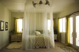 Exciting White Sheer Canopy Bed Curtain Pictures Decoration Inspiration
